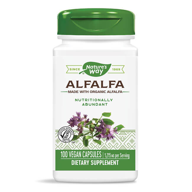 Nature's Way Alfalfa Leaves (100 capsules)