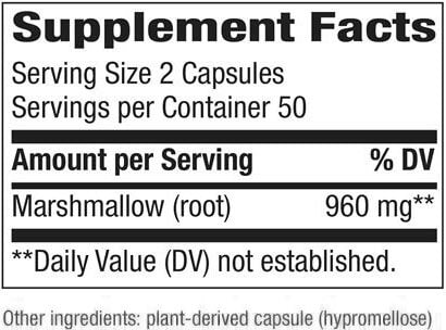 Nature's Way Marshmallow Root (100 capsules)