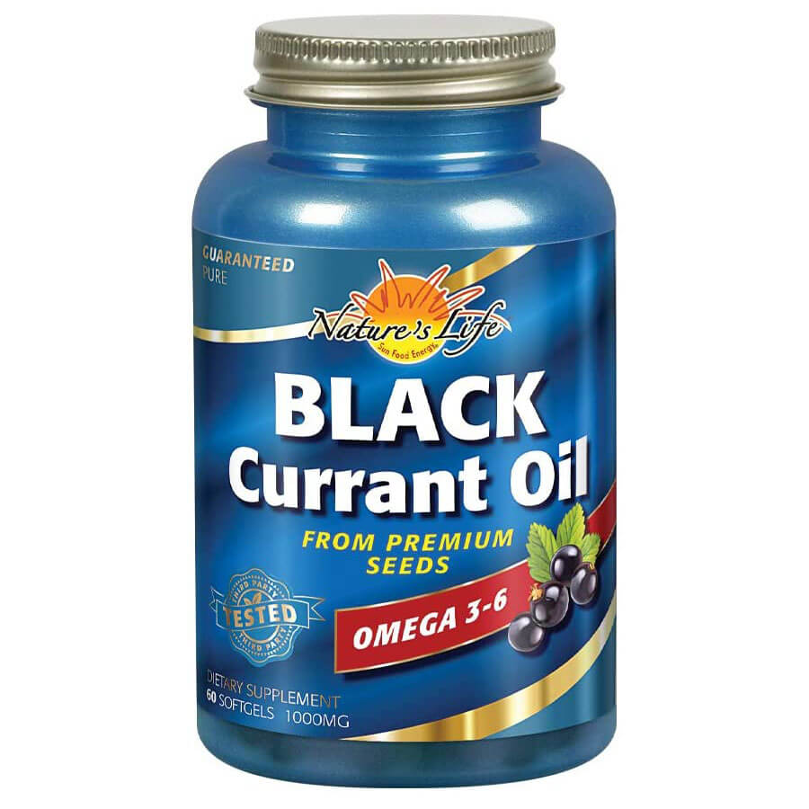 Health From the Sun Black Currant Oil (60 softgels)