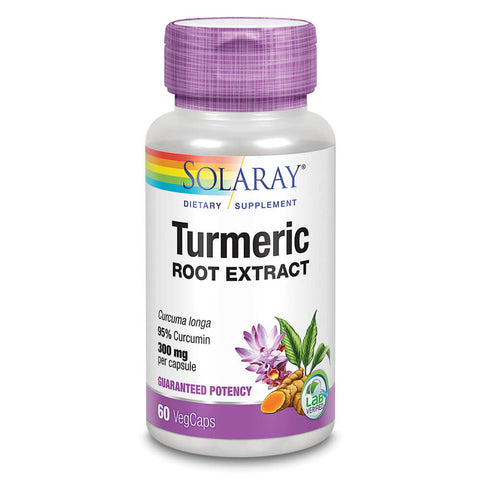 Solaray Turmeric Root Extract (60 capsules)