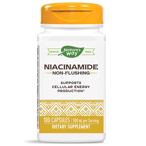 Nature's Way Niacinamide 500mg (100 capsules)
