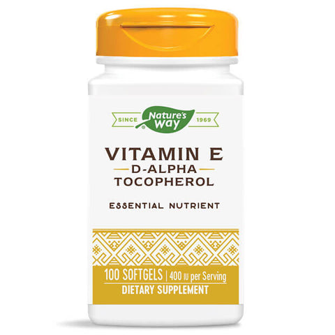 Nature's Way Vitamin E 400 IU (100 softgels)
