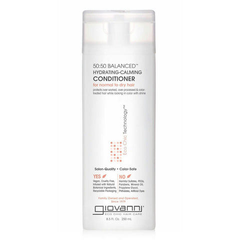 Giovanni 50:50 Balanced Hydrating-Calming Conditioner (8.5 fl oz)