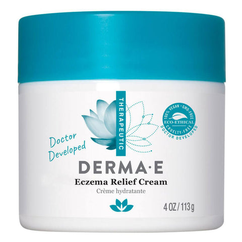 Derma E Eczema Relief Cream (4 oz)