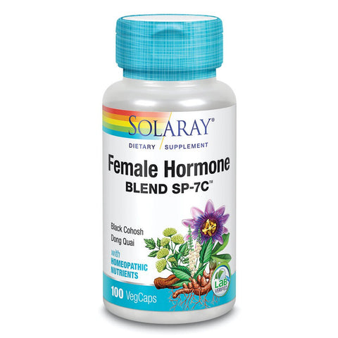 Solaray Female Hormone Blend SP-7C (100 capsules)