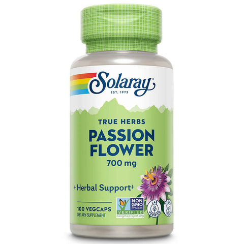 Solaray Passion Flower, Aerial (100 capsules)