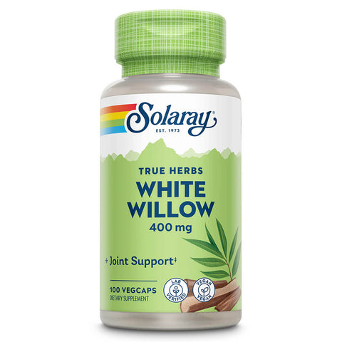 Solaray White Willow Bark (100 capsules)