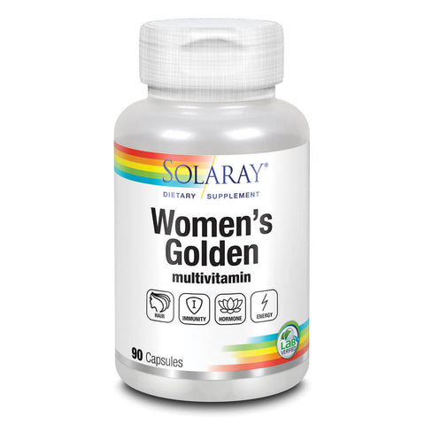 Solaray Women's Golden Multivitamin (90 capsules)