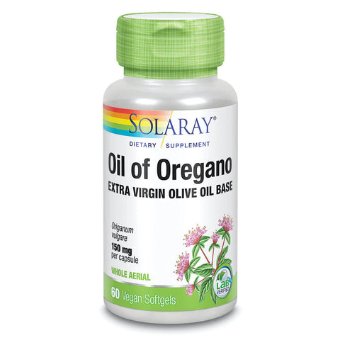 Solaray Oil of Oregano (60 softgels)