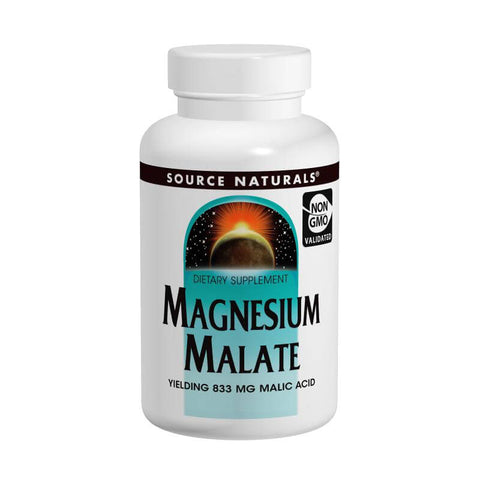 Source Naturals Magnesium Malate (180 tablets)