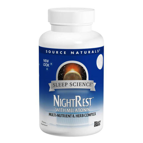 Source Naturals NightRest with Melatonin (100 tabs)
