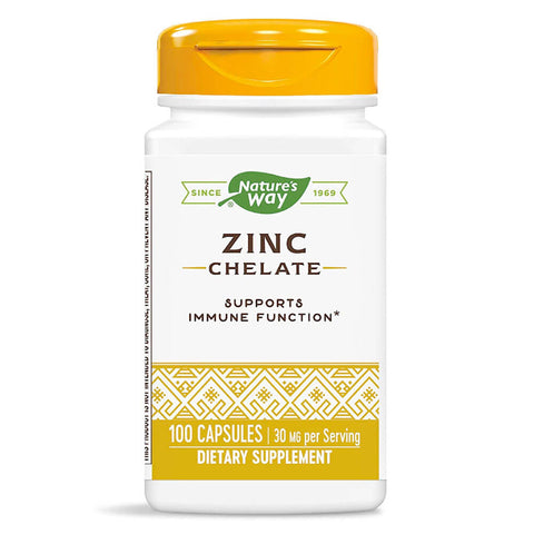 Nature's Way Zinc 30mg (100 capsules)