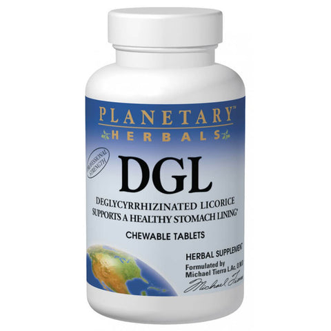 Planetary Herbals DGL (100 tablets)