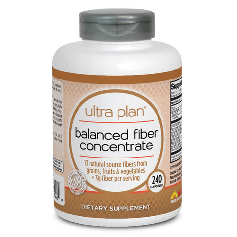 Ultra Plan Balanced Fiber Concentrate (240 capsules)