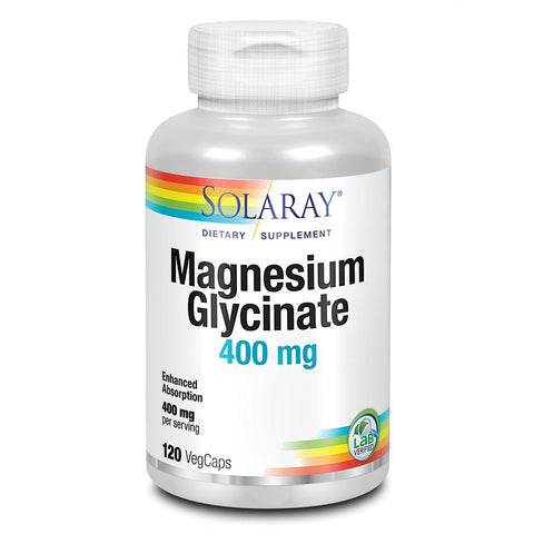 Solaray Magnesium Glycinate (120 capsules)