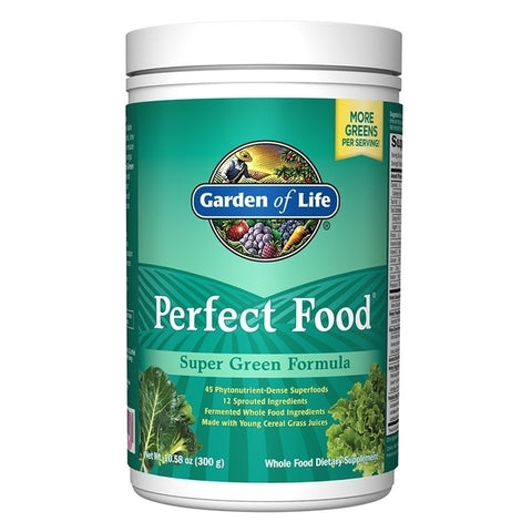 Garden of Life Perfect Food Super Green Formula (300 grams)