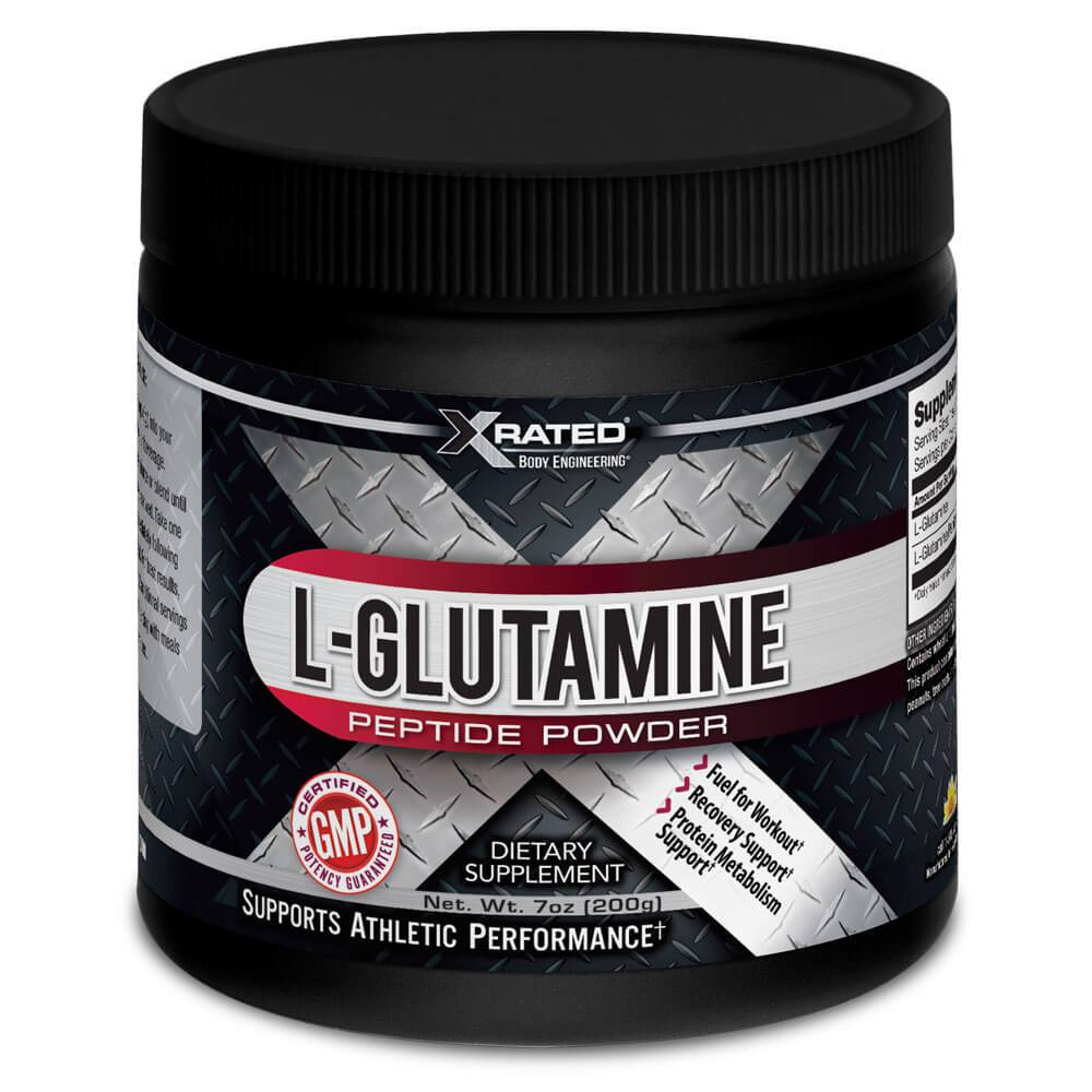 Xrated Body Engineering L-Glutamine Peptide Powder