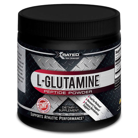 Xrated Body Engineering L-Glutamine Peptide Powder (200g)