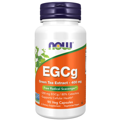 NOW EGCg Green Tea Extract 400mg (90 veg capsules)