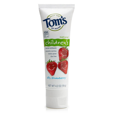 Tom's of Maine Children's Toothpaste - Silly Strawberry (4.2 oz)