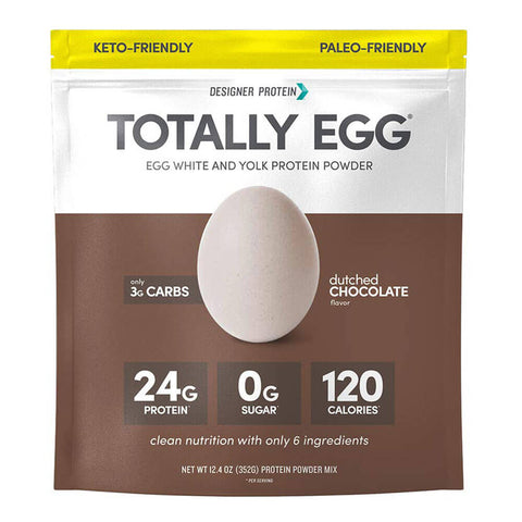Designer Protein Totally Egg Protein Powder (12.4 oz)