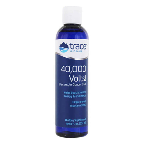 Trace Minerals Research 40,000 Volts Electrolyte Concentrate (8 fl oz)