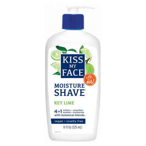 Kiss My Face Moisturize Shave - Key Lime (11 fl oz)