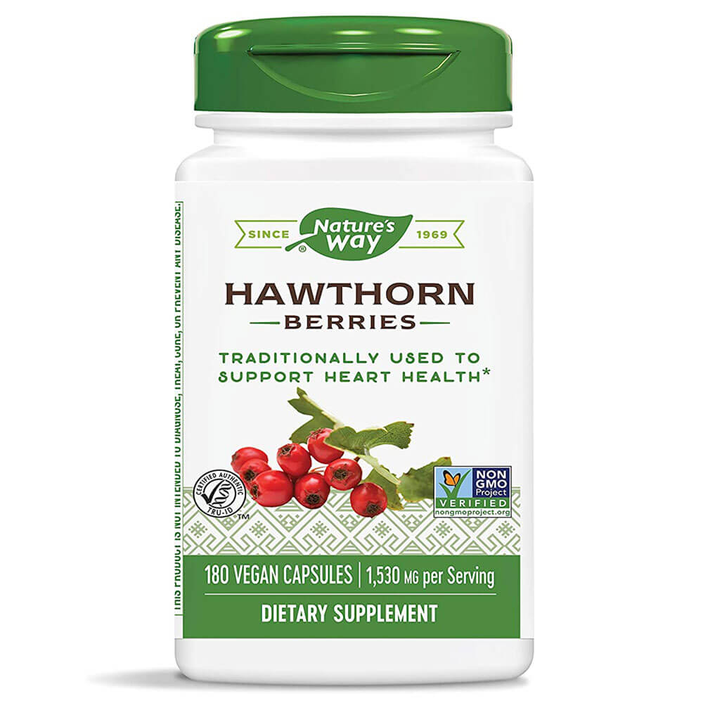Nature's Way Hawthorn Berries (180 Vcaps)