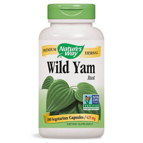 Nature's Way Wild Yam Root (180 capsules)