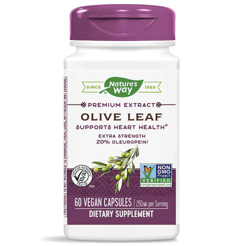 Nature's Way Olive Leaf 20% (60 capsules)