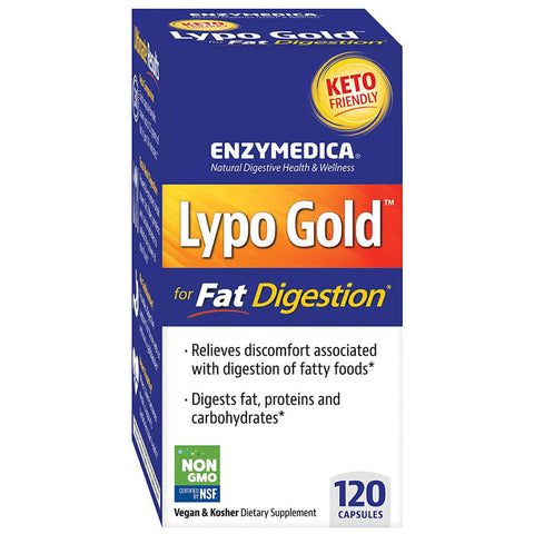 Enzymedica Lypo Gold (120 capsules)
