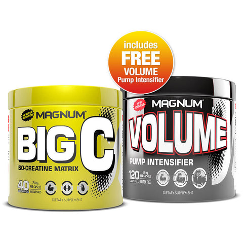 Magnum Muscle Pump Stack (Big C + FREE Volume)