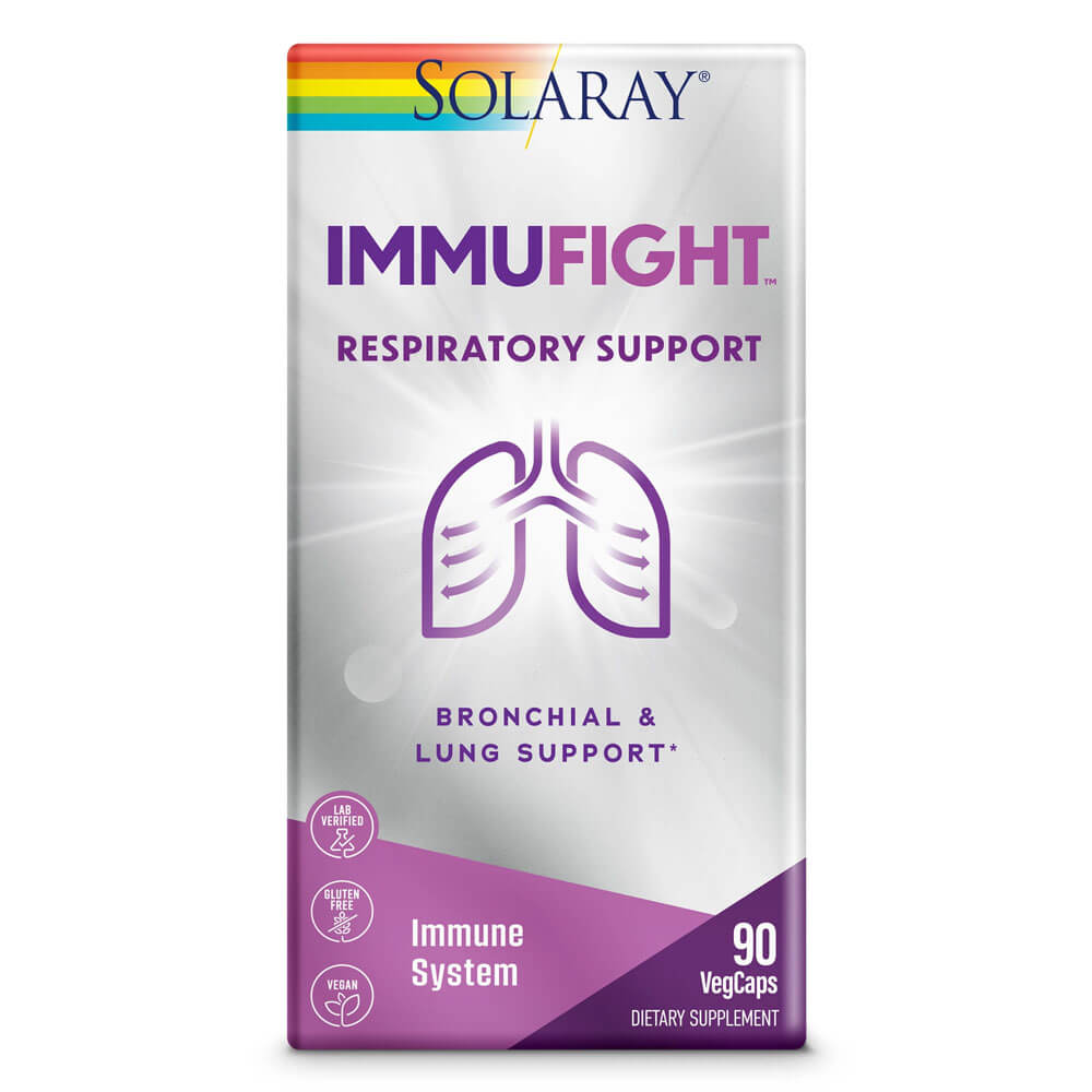 Solaray Immufight Respiratory Support (90 capsules)