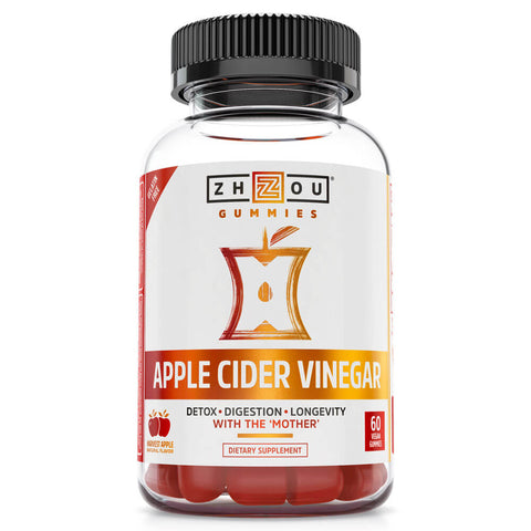 Zhou Nutrition Apple Cider Vinegar (60 gummies)