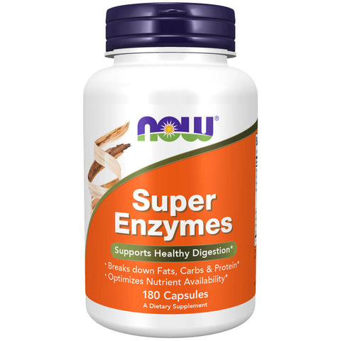 NOW Super Enzymes (180 capsules)
