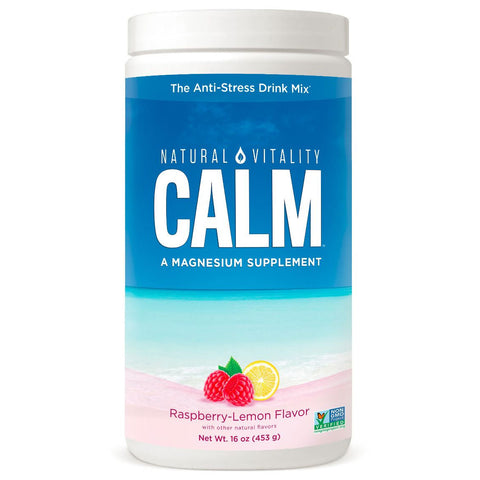 Natural Vitality Natural Calm - Raspberry Lemon (16 oz)