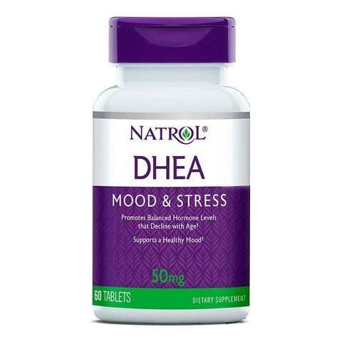 Natrol DHEA 50mg (60 tablets)