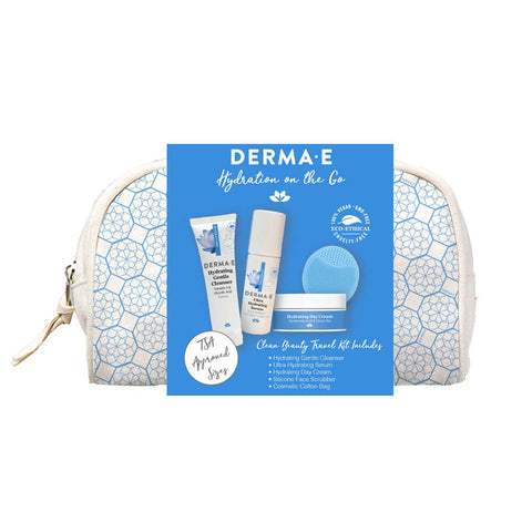 Derma E Holiday Hydration on the Go Set