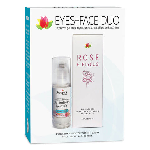 Reviva Labs Eyes+Face Duo (1 fl oz + 4 fl oz)