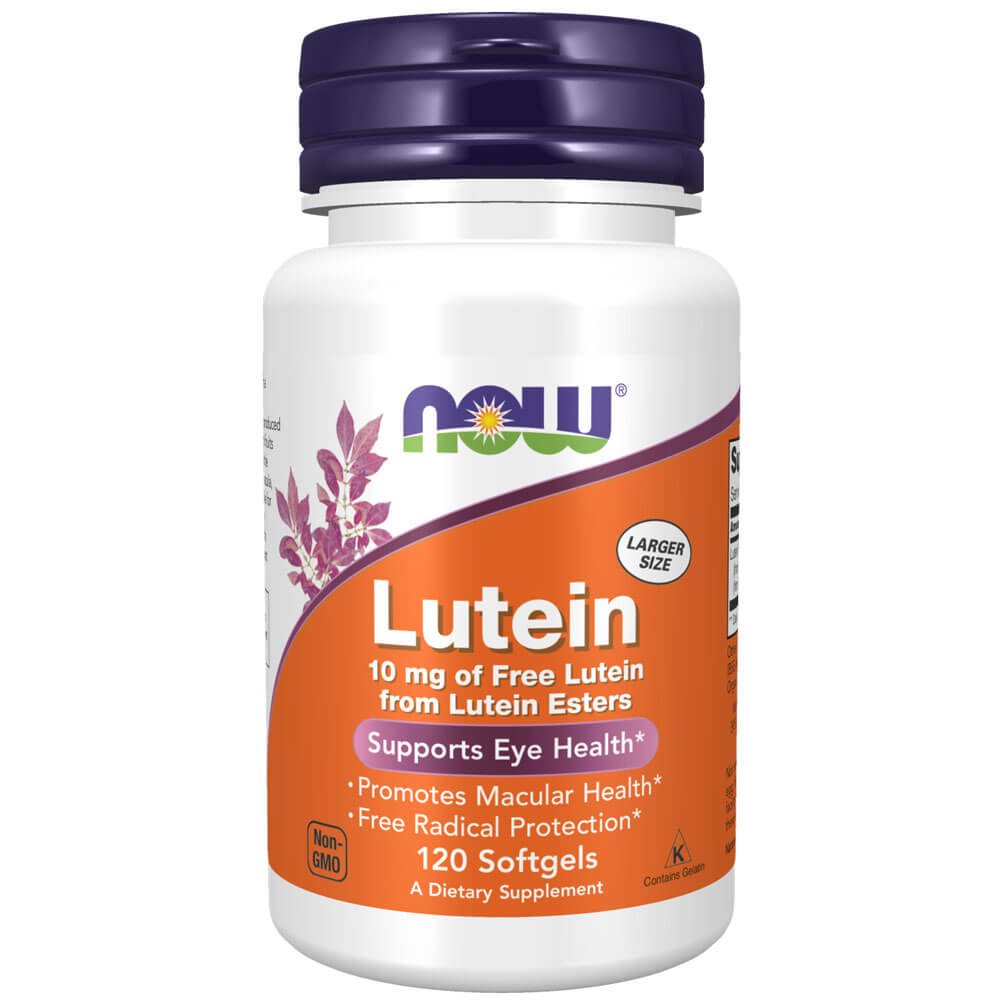 NOW Lutein 10 mg (120 softgels)