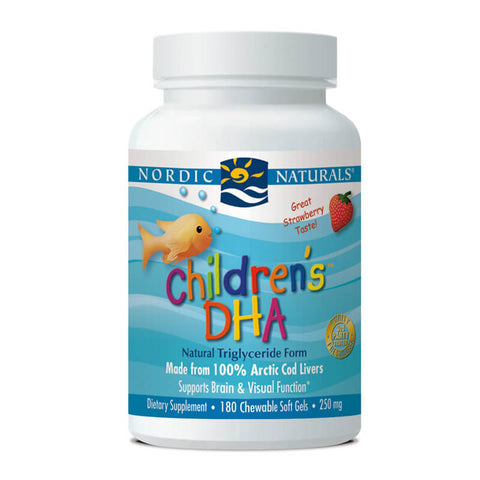 Nordic Naturals Children's DHA - Strawberry (180 softgels)