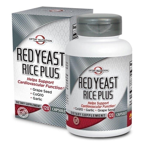 Optim Nutrition Red Yeast Rice Plus (120 capsules)