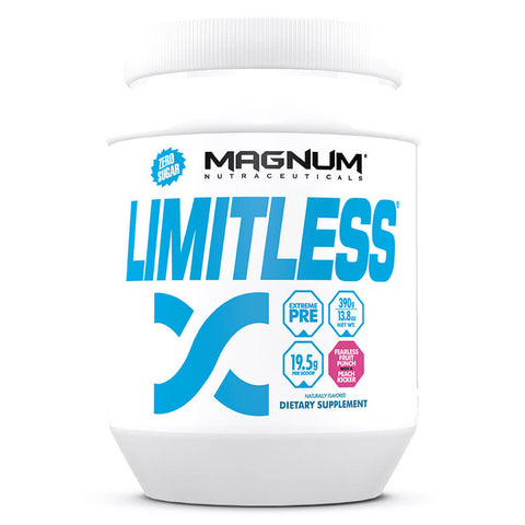 Magnum Limitless Extreme Pre-Workout - Fearless Fruit Punch (20 servings)