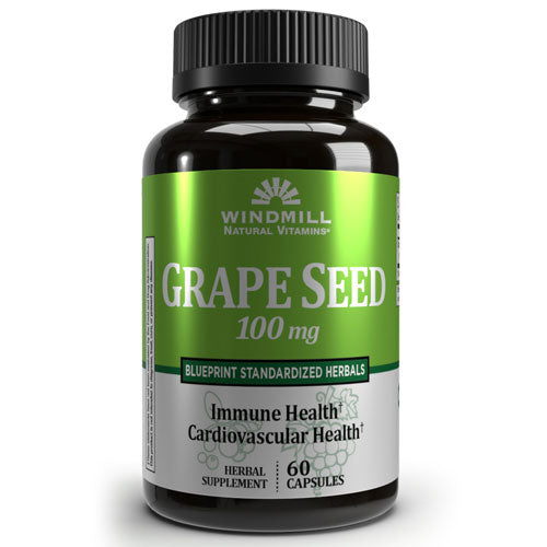 Windmill Grape Seed Extract 100mg (60 capsules)