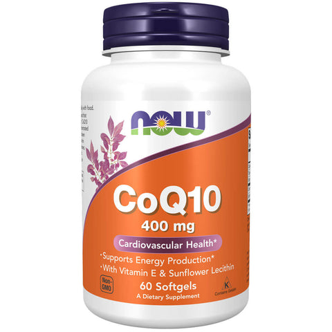 NOW CoQ10 400mg (60 softgels)