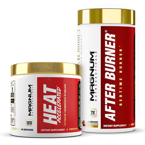 Magnum 24-Hour Fat Loss Stack (Heat Accelerated + FREE After Burner)