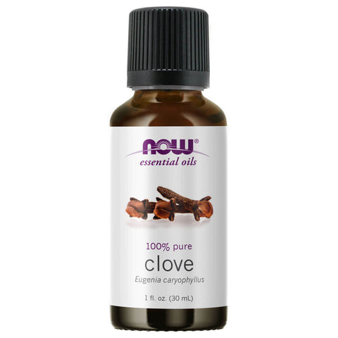 NOW Essential Oils Clove Oil (1 fl oz)