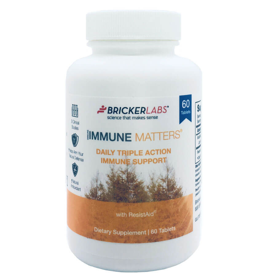 Bricker Labs Immune Matters with ResistAid (60 tablets)
