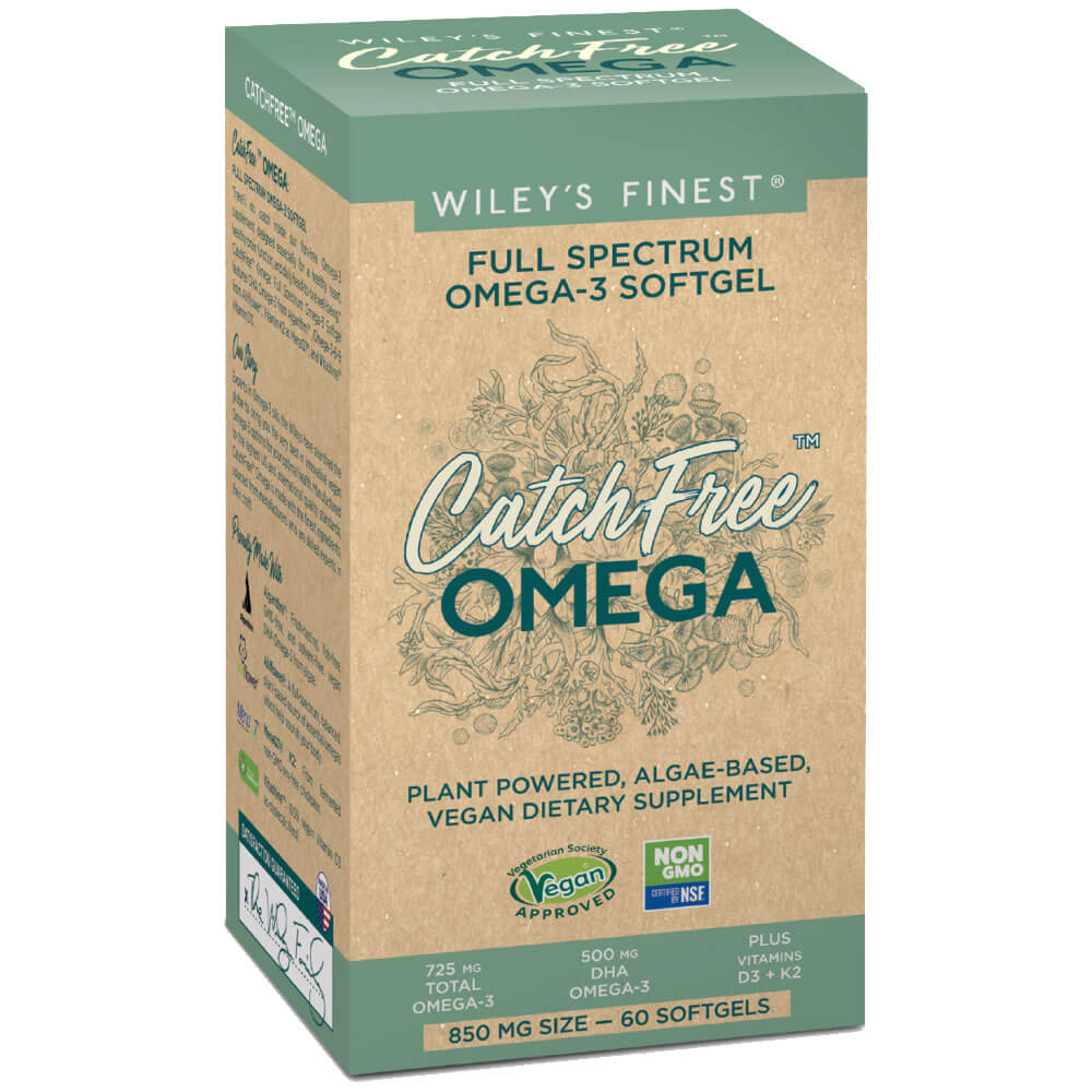Wiley's Finest CatchFree Omega (60 softgels)