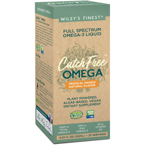 Wiley's Finest CatchFree Omega Full Spectrum Liquid (4.23 fl oz)